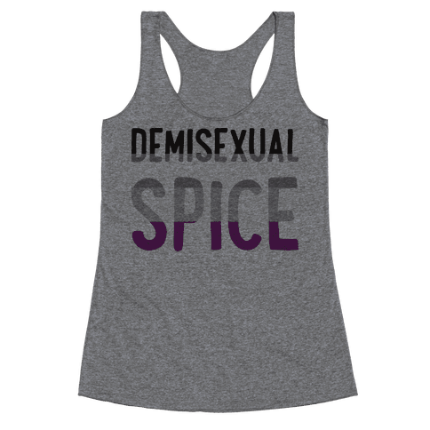 Demisexual Spice Racerback Tank Top