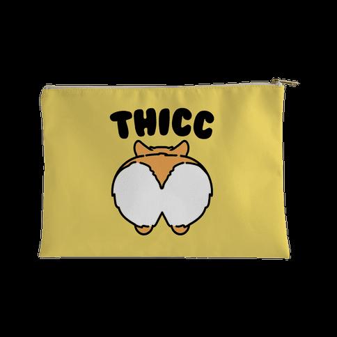 Thicc Corgi Butt Parody Accessory Bag