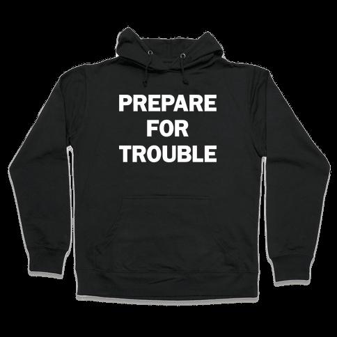 Team Rocket Pair 1 Hooded Sweatshirt