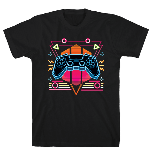 Synthwave Gamer Mens/Unisex T-Shirt