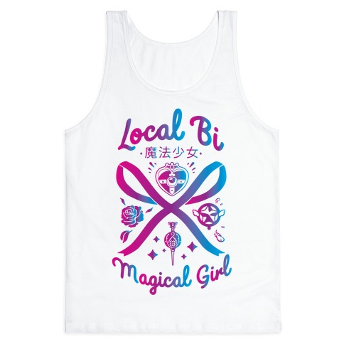 Local Bi Magical Girl Tank Top