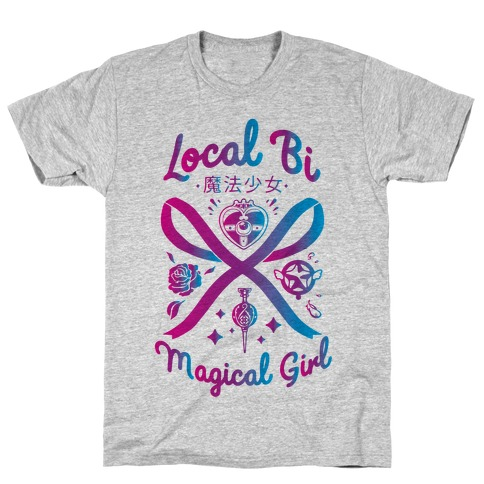 Local Bi Magical Girl T-Shirt
