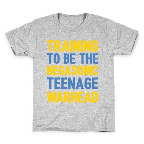Training To Be The Negasonic Teenage Warhead White Print  Kids T-Shirt