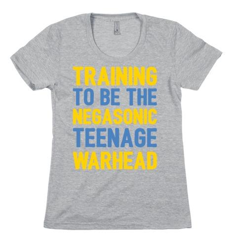 Training To Be The Negasonic Teenage Warhead White Print Womens T-Shirt