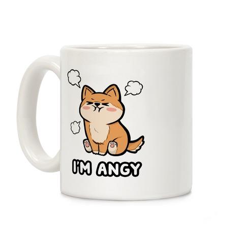 I'm Angy Shiba Inu Coffee Mug