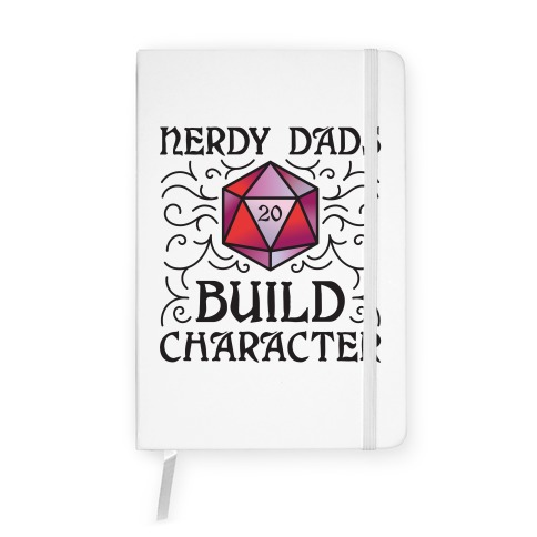 Nerdy Dads Build Character Notebook