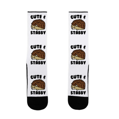 Cute & Stabby  Sock