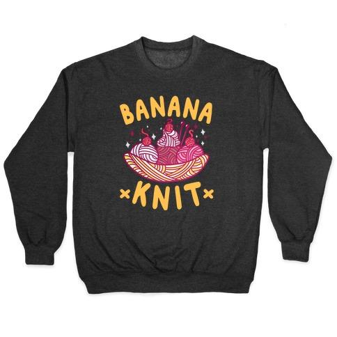 Banana Knit Pullover