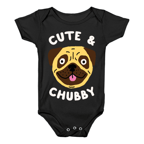 Cute And Chubby Baby Onesy
