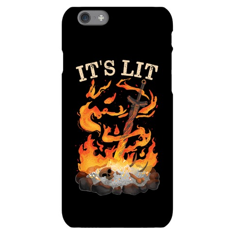 It's Lit Bonfire Phone Case