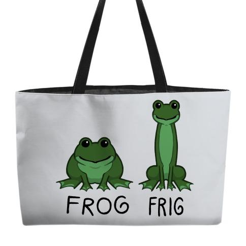 Frog, Frig Weekender Tote