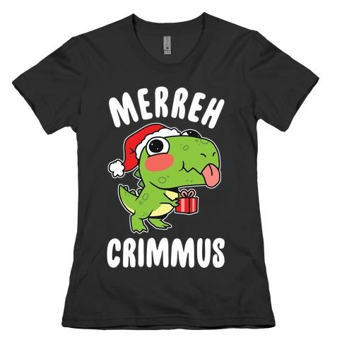 Merreh Crimmus Womens T-Shirt