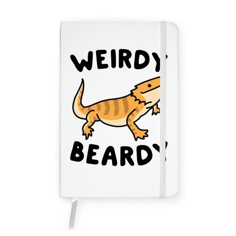 Weirdy Beardy Bearded Dragon Notebook