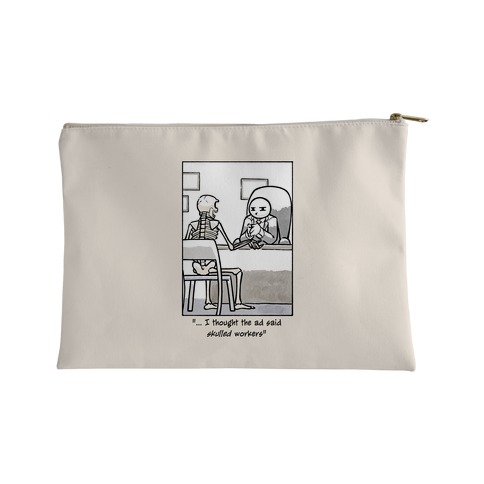 Skulled Workers Accessory Bag