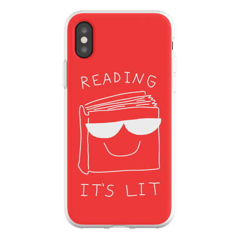 Reading It's Lit Phone Flexi-Case