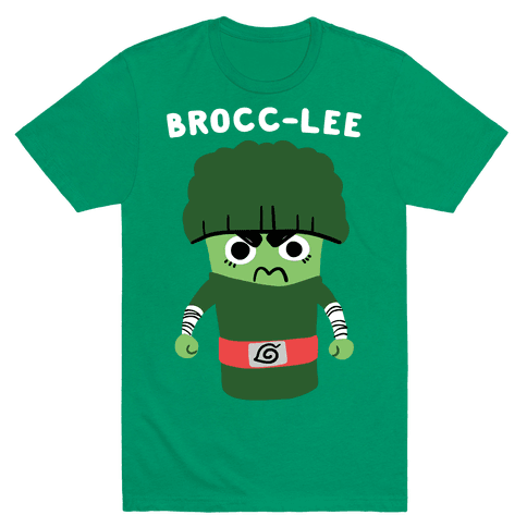 Brocc-Lee - Rock Lee Mens T-Shirt