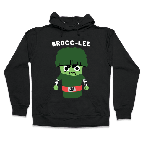 Brocc-Lee - Rock Lee Hooded Sweatshirt