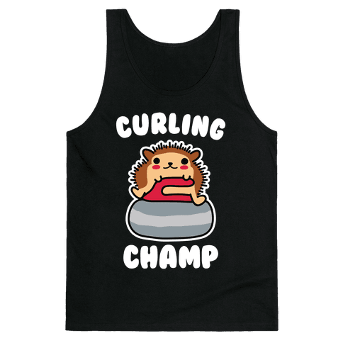 Curling Champ Tank Top