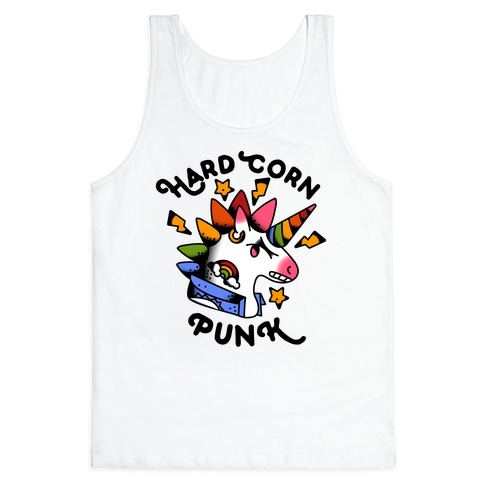 Hard Corn Punk Tank Top