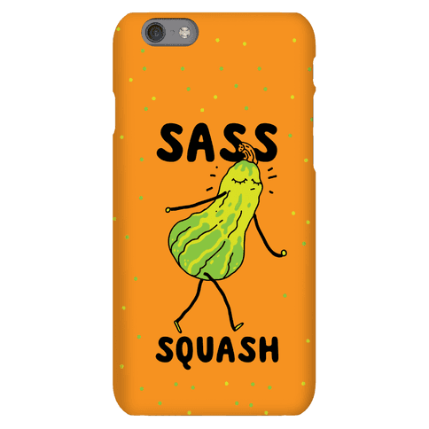 Sass Squash Phone Case