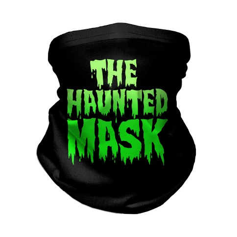 The Haunted Mask Face Mask Parody Neck Gaiter