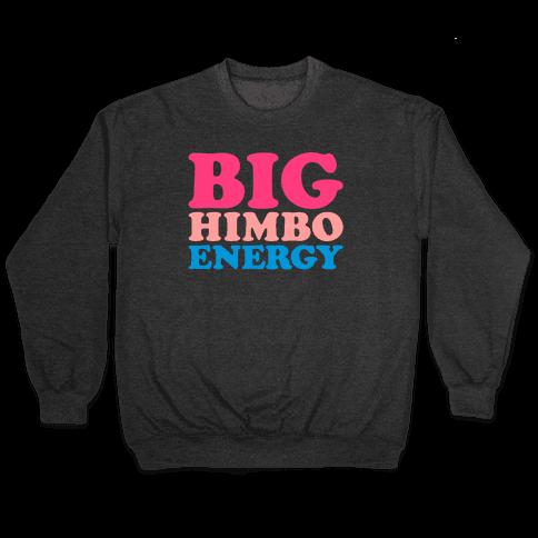 Big Himbo Energy White Print Pullover