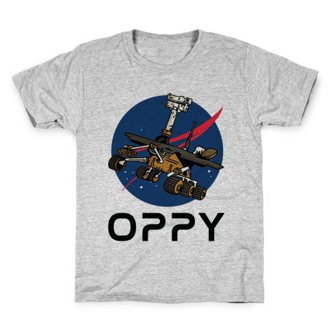 Oppy Nasa Parody Logo Kids T-Shirt