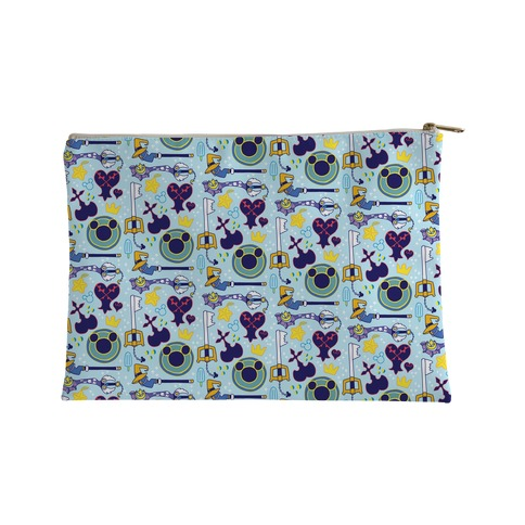 Kingdom Hearts pattern Accessory Bag