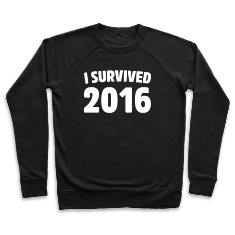 I Survived 2016 White Print