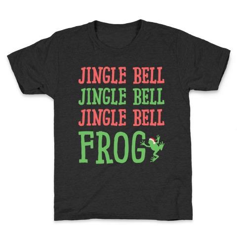 Jingle Bell Frog Kids T-Shirt