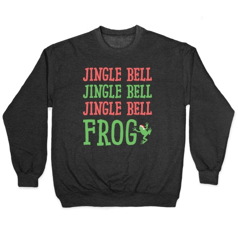 Jingle Bell Frog Pullover