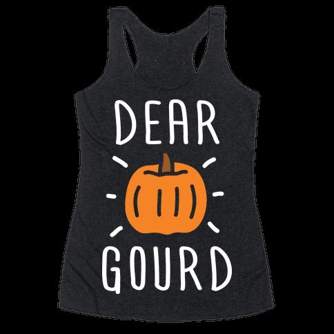 Dear Gourd Racerback Tank Top