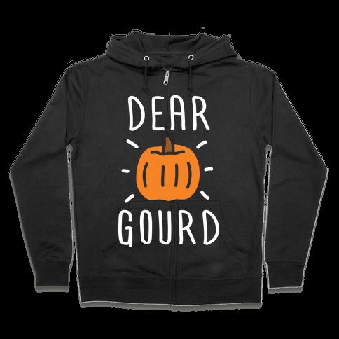 Dear Gourd Zip Hoodie