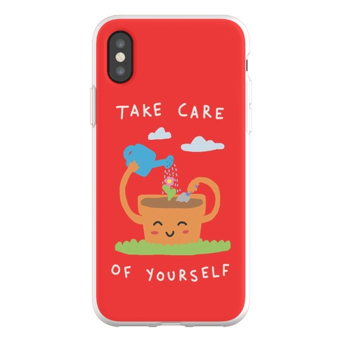 Take Care Of Yourself Phone Flexi-Case