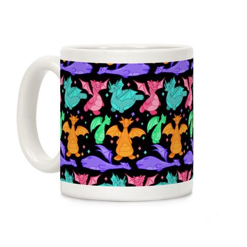 Colorful Dragons Coffee Mug