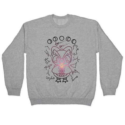 Celestial Astrology Owl Pullover