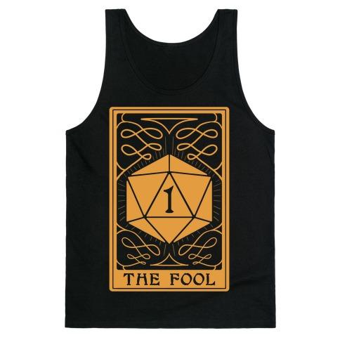 The Fool Nat1 Tarot Card Tank Top