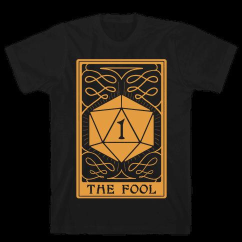 The Fool Nat1 Tarot Card Mens/Unisex T-Shirt
