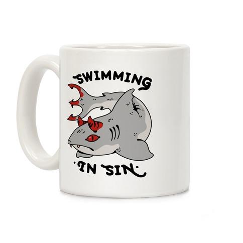 Swimming In Sin Coffee Mug