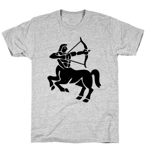Zodiacs Of The Hidden Temple - Sagittarius Archer T-Shirt