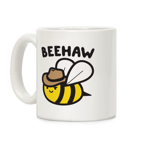 Beehaw Cowboy Bee Coffee Mug