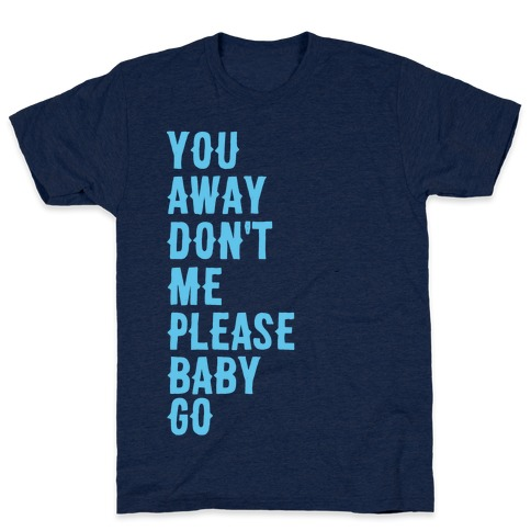Simple and Clean Lyrics (1 of 2 pair) T-Shirt