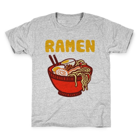 Ramen Noodle Bowl Kids T-Shirt