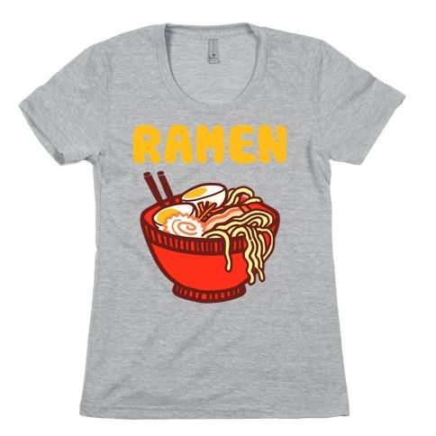 Ramen Noodle Bowl Womens T-Shirt