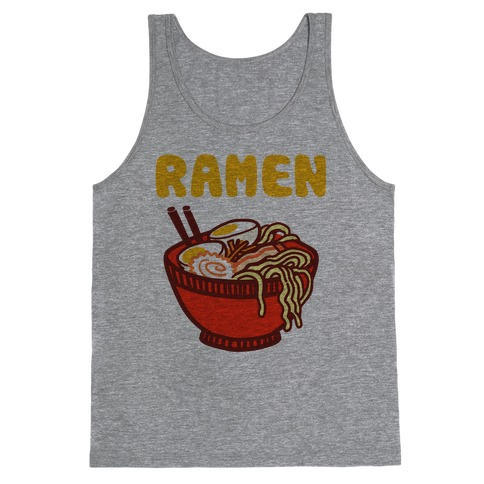 Ramen Noodle Bowl Tank Top