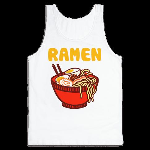 Ramen Noodle Bowl Tank Top