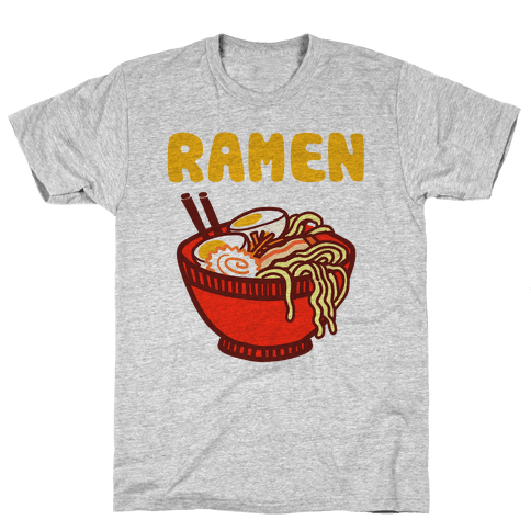 Ramen Noodle Bowl Mens T-Shirt