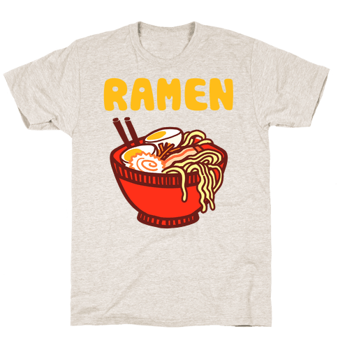 Ramen Noodle Bowl Mens T-Shirt