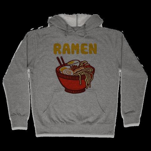 Ramen Noodle Bowl Hooded Sweatshirt