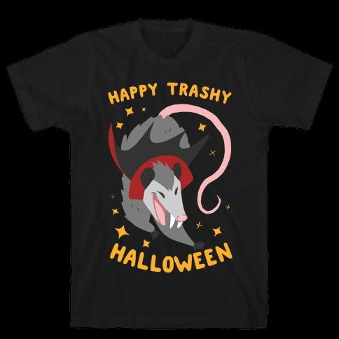 Happy Trashy Halloween Mens T-Shirt